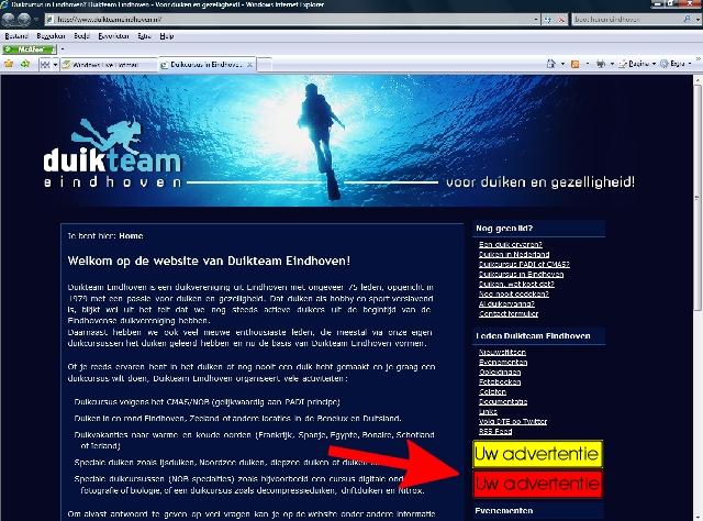 Nodig bedrijven uit om DTE te sponseren (Jaarblad en website)