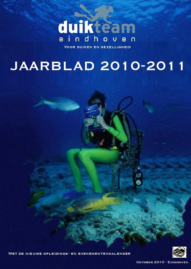 Nieuw Jaarblad 2010/2011 in de Tongelreep -20 oktober