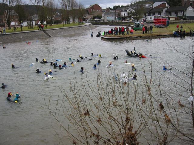 Zondag 3 maart  – Aqua- Carnaval 2013 (oftewel de Ourthe afdaling)