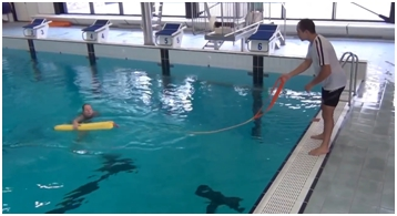 Extra toezichthouder training (reddingszwemmen voor duikers)