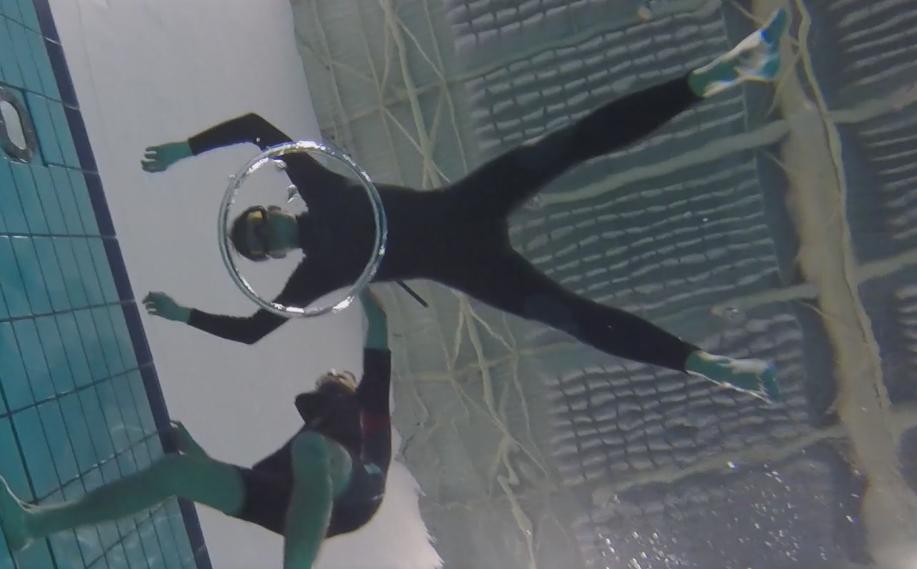 Adem in….. en duiken maar!