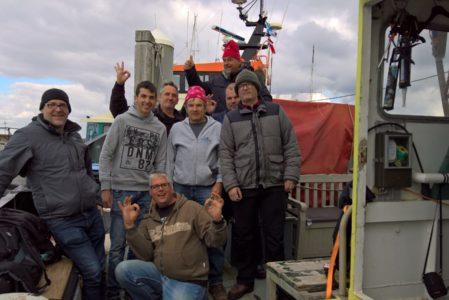 DTE op de Noordzee