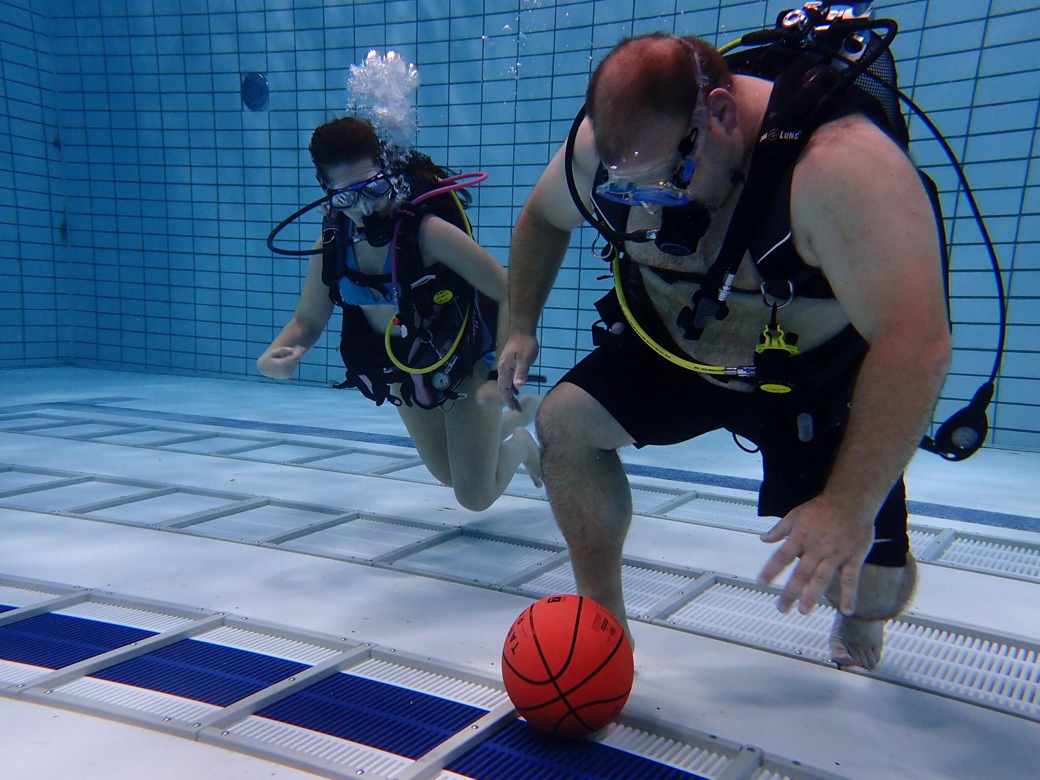 Onderwatervoetballers klaar voor het NK