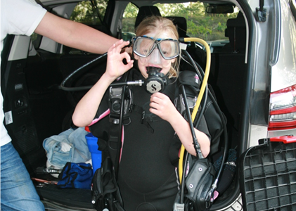 Speekbeurt over duiken