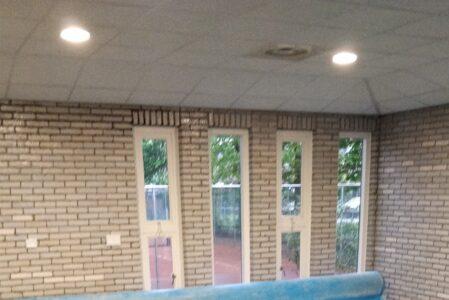 1* zwembadtrainingen dan toch – eindelijk – van start